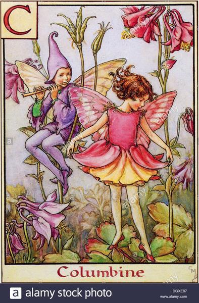 flower-fairies-illustration-by-cicely-mary-barker-the-columbine-fairy-DGXE87 (Copy)